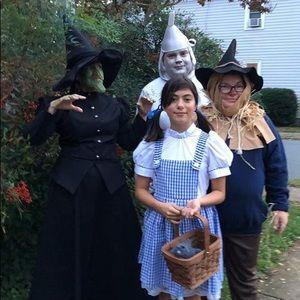Wizard Of Oz Tin Man Costume Size XL